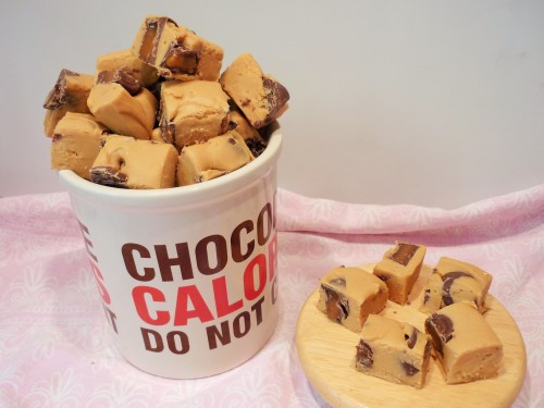 Caramel rolo fudge recipe