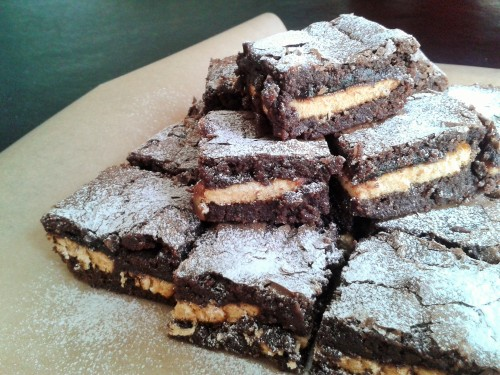 Jaffa cake orange chocolate brownies recipe
