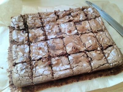 Jaffa Cake Brownie Recipe