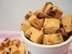 No cook caramel rolo fudge recipe