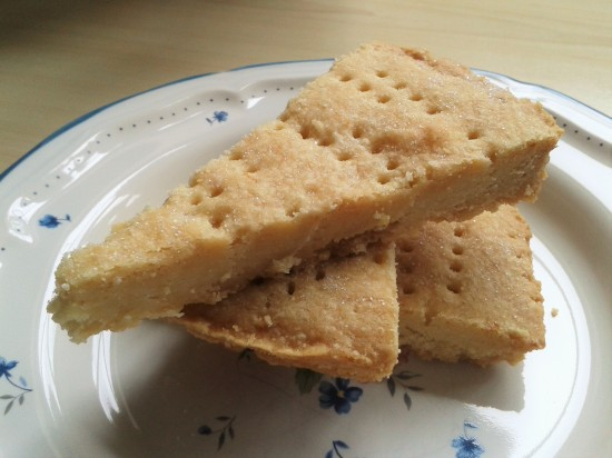 How to make lemon shortbread wedges