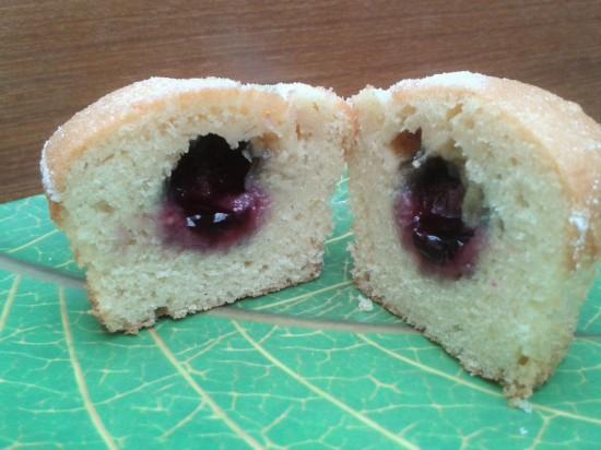 jam centre muffins recipe