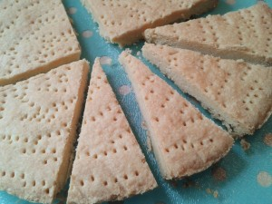 Recipe for lemon shortbread