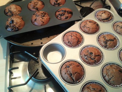 freshly-baked-double-chocolate-muffin-recipe