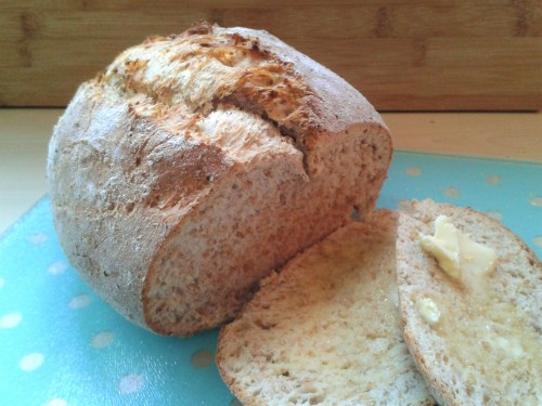wholemeal-split-tin-easy-bread-recipe-sliced-with-butter