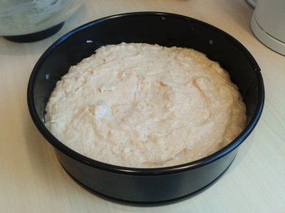 banana-cake-recipe-batter-before-baking