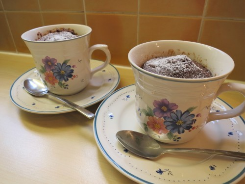 Cake Recipes In Grill Microwave Oven: Easy Microwave Mug Cake. Chocolate Cake In Under