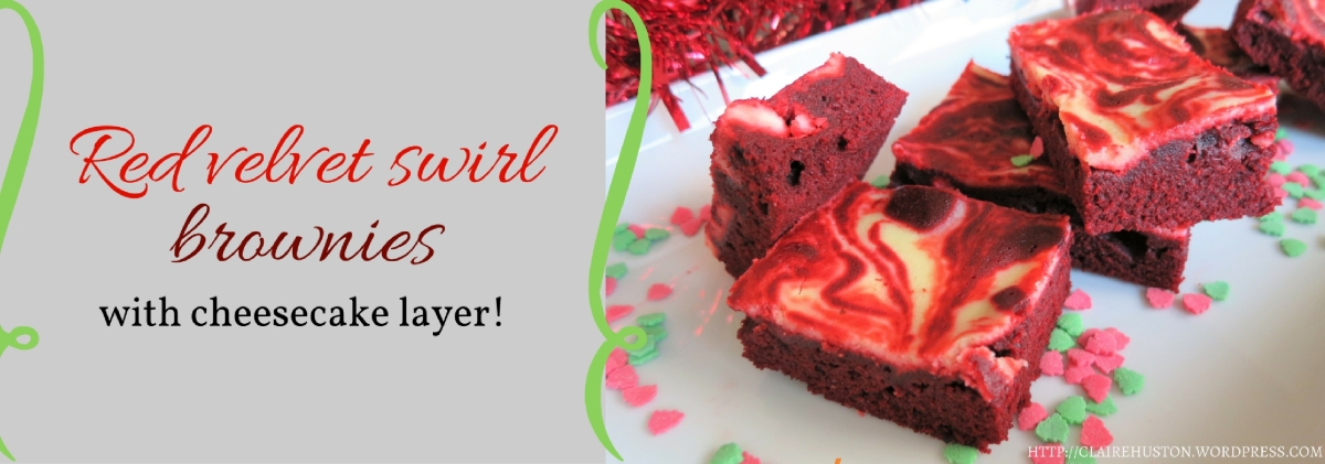 Recipe Red Velvet Swirl Brownies With Cheesecake Layer
