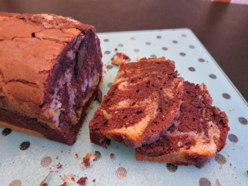 Recipe Chocolate And Vanilla Marble Loaf Cake Art And Soul