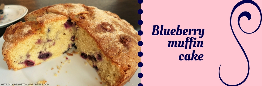 Cake Art Recipes : Recipe Blueberry muffin cake Art and Soul