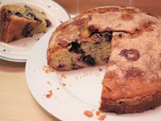 how-to-make-simple-blueberry-muffin-cake-recipe-uk