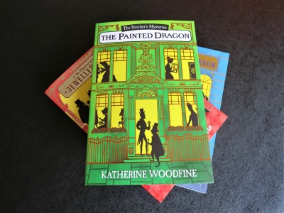 Katherine Woodfine Sinclair Mysteries book covers