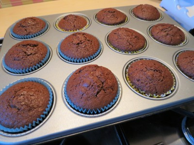 Easy recipe for Chocolate nest cupcakes UK