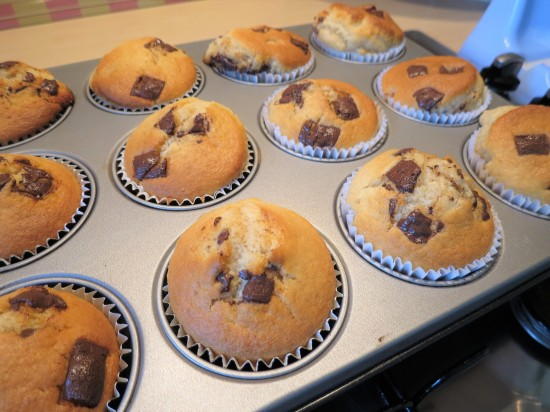 After Eight mint chocolate muffins recipe uk freshly baked