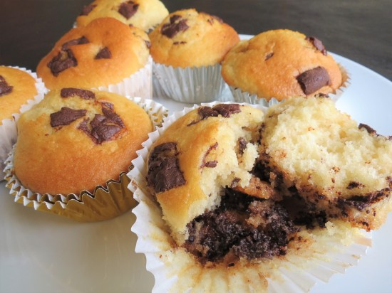 After Eight mint chocolate muffins recipe view inside (2)
