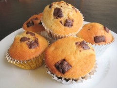 Simple After Eight mint chocolate muffins recipe uk