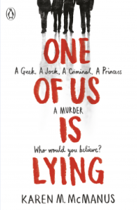 One of Us Is Lying by Karen M. M. McManus