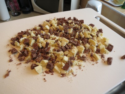 Chewy chocolate oat square flapjack chocolate cake recipe uk