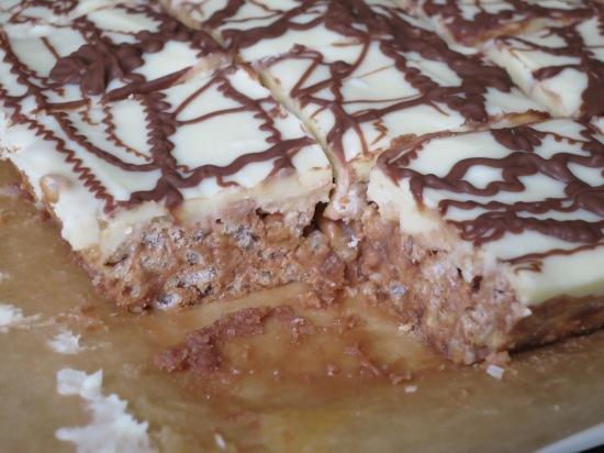 Puffed Rice Cake Recipe