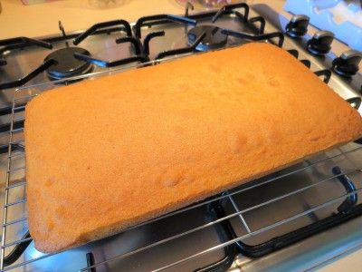 Orange sweetie tray bake cake uk recipe