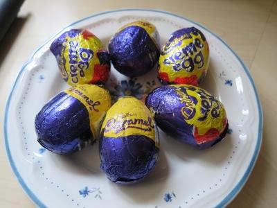 Cadbury creme egg cream egg easter chocolate cupcake recipe uk