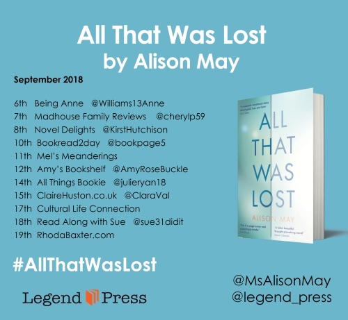 All That Was Lost Blog Tour Banner