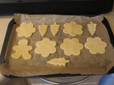 Melted snowman biscuits easy festive Christmas cookies uk baking with kids