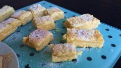 Easy lemon bars tray bake recipe uk