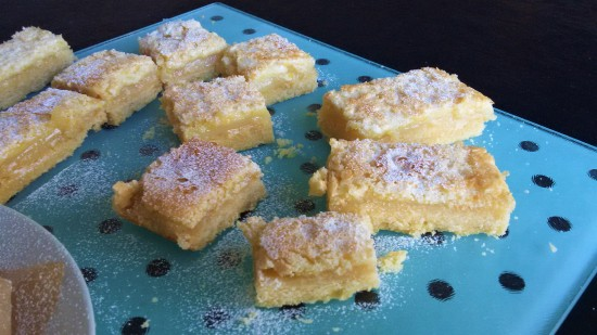 Easy lemon bars tray bake recipe uk