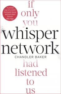 Whisper Network by Chandler Baker book cover