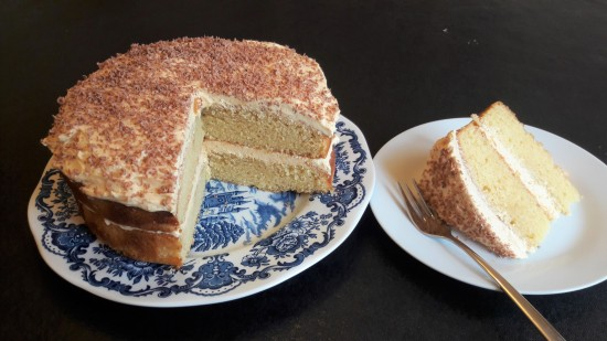Easy white chocolate fudge cake with salted caramel buttercream recipe uk