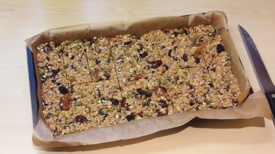 Make your own cereal bars recipe uk