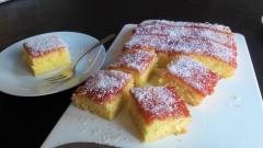 Classic old school jam and coconut sponge cake easy uk recipe