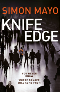 Knife Edge by Simon Mayo book cover