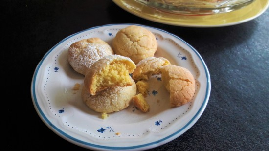 Lemon melt icing sugar cookies light fluffy biscuit with crunchy shell easy recipe uk