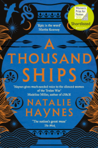 A Thousand Ships by Natalie Haynes book cover