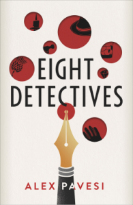 Eight Detectives Alex Pavesi book cover
