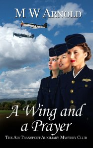A Wing and a Prayer by M W Arnold book cover