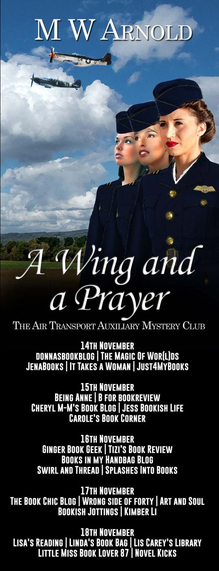 A Wing and a Prayer Full Tour Banner