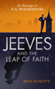 Jeeves and the Leap of Faith by Ben Schott book cover