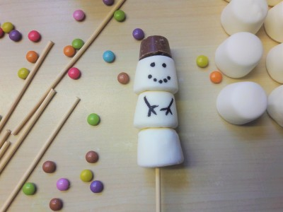 Easy marshmallow snowmen recipe UK