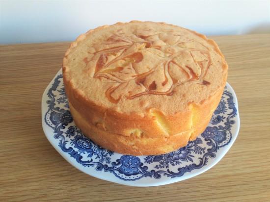 Recipe finished lemon curd swirl sponge layer cake uk