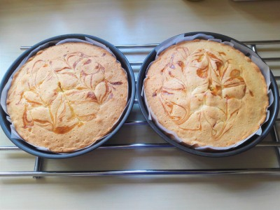 Recipe lemon curd swirl sponge layer cake uk