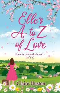 Elle's A to Z of Love by Claire Huston book cover