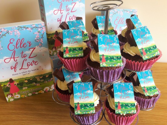 Elle's A to Z of Love by Claire Huston cupcakes