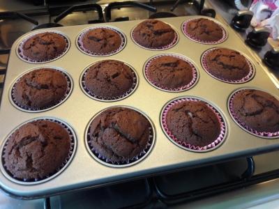 Quick Easy KitKat cupcakes chocolate buns recipe uk